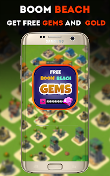 Gems For Boom Beach Prank APK screenshot thumbnail 1