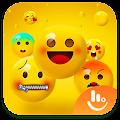 Happy Emoji Keyboard Sticker APK for Bluestacks