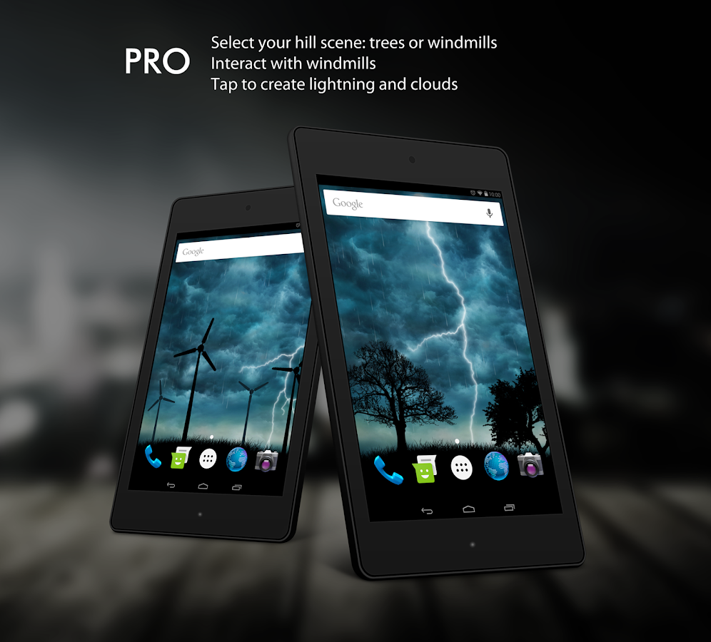 Live Storm Pro Wallpaper Screenshot 3