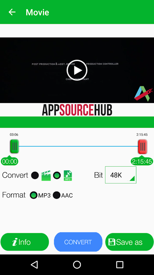 Video to MP3 Pro Screenshot