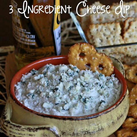 Three Ingredient Cheese Dip