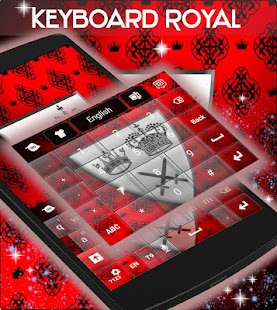 Royal Keyboard - screenshot
