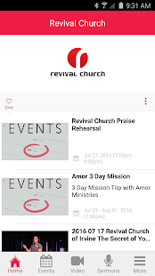 Revival Church App - screenshot