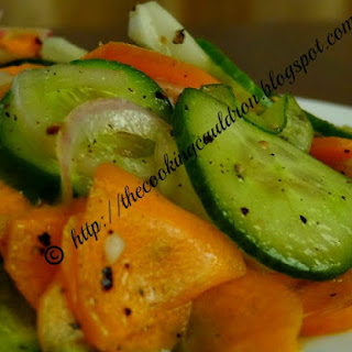 Cucumber Carrot And Onion Salad Recipes