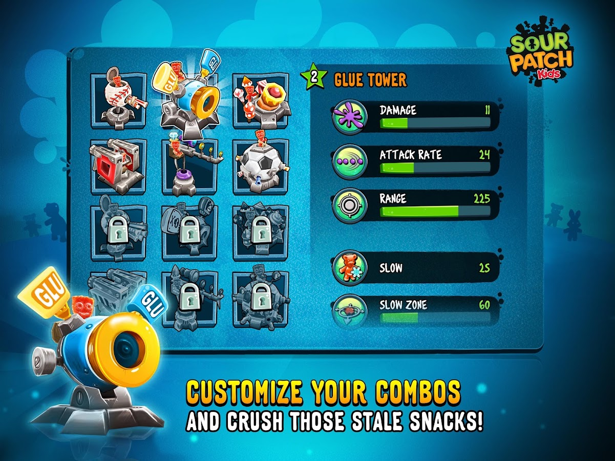 Sour Patch Kids: Candy Defense Screenshot 7