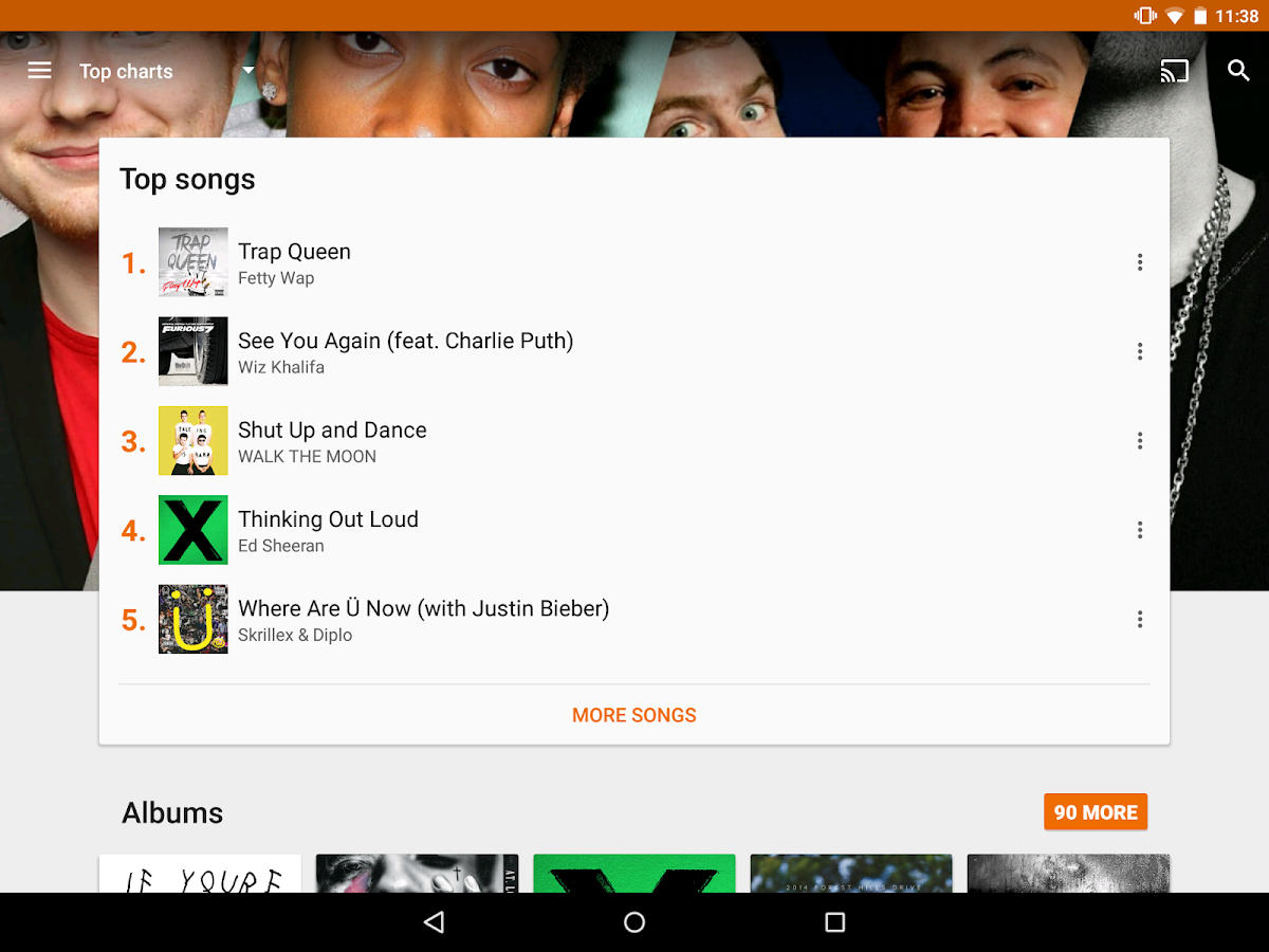 Google Play Music Screenshot 10