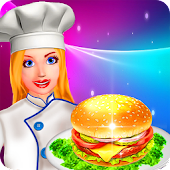 Burger Kitchen Fever: Cooking Tycoon APK for Bluestacks