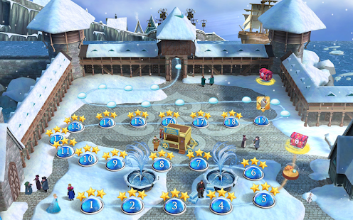 Frozen Free Fall: Icy Shot APK for Bluestacks