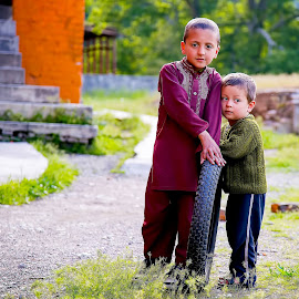 Two Brothersssss by Tahsin Shah - Babies & Children Child Portraits