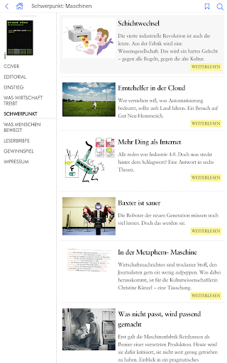 Brand eins - screenshot