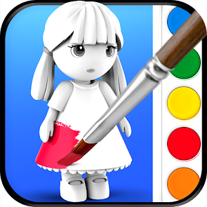 ColorMinis Kids - Color & Create real 3D art For PC