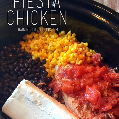 Fiesta Chicken (in the crock pot)