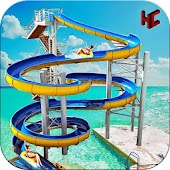 Water Park Slide Adventure APK for Bluestacks