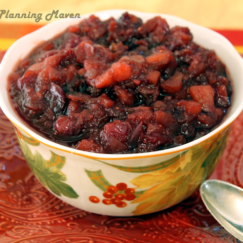 Apple-Pear Cranberry Chutney