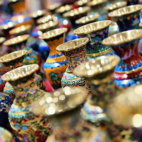Colorful Vase by Mohamad Hafizuddin - Artistic Objects Other Objects