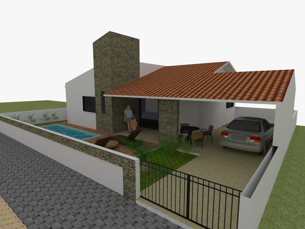 Casa à venda por R$ 210.000,00 - Praia do Amor - Conde/PB