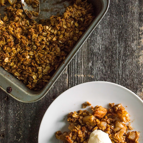 Apple and Pear Crisp