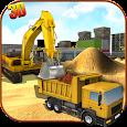Heavy Excavator Crane Sim