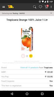 ZopNow - Grocery Shopping APK for Bluestacks