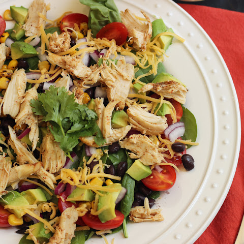 Santa Fe Salad with Chicken and Corn