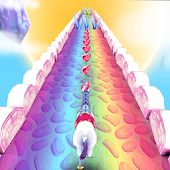 Game My Little Unicorn Runner 3D 2 version 2015 APK