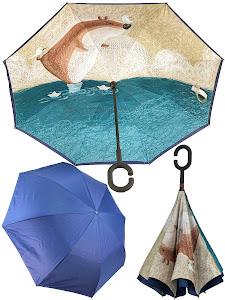 "Зонт ""Принт"", 8771"