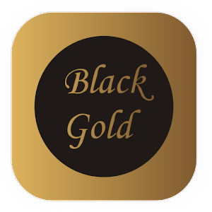 Black Gold SmartLauncherTheme