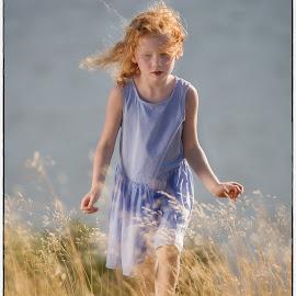 In the field by Jan Egil Sandstad - Babies & Children Children Candids