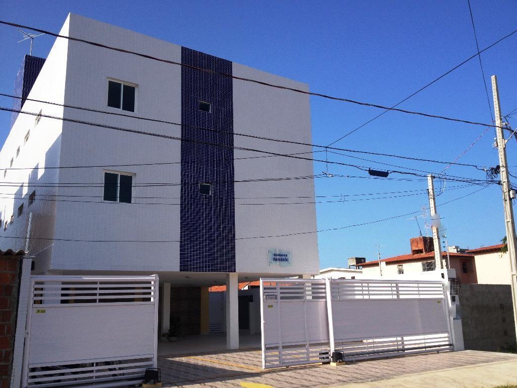 Apartamento com 2 dormitórios para alugar, 54 m² por R$ 1.370,00/mês - Bessa - João Pessoa/PB