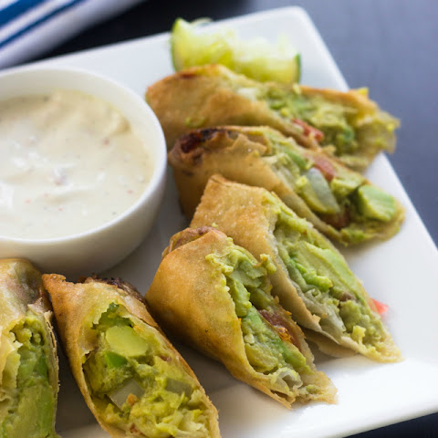 Easy Avocado Egg Rolls