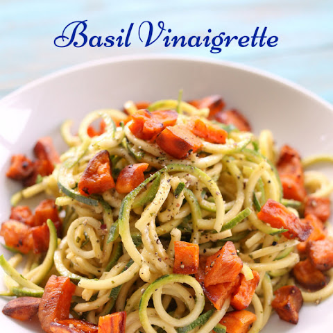 Zucchini Noodles with Balsamic Vinaigrette