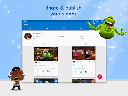Free Zoobe - cartoon voice messages APK for Windows 8