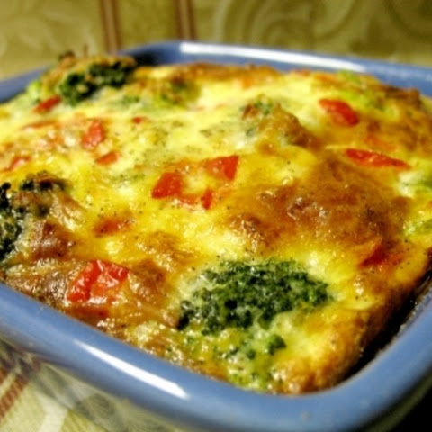 (Weight Watchers) Broccoli Quiche