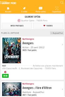 Les cin mas gaumont path android - Carte fidelite gaumont ...