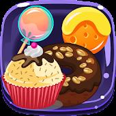 APK Game Cookie Lollipop Sweet Match3 for BB, BlackBerry
