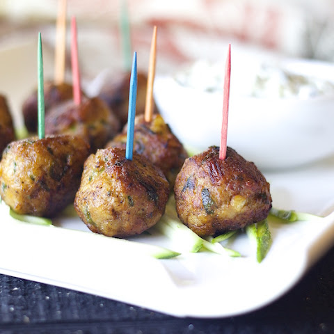 Chicken Kabab meatballs