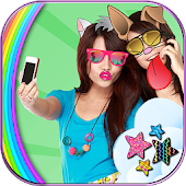 Download Cute Face Swap Photo Stickers APK on PC