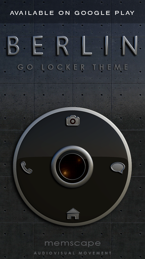 BERLIN Next Launcher 3D Theme Screenshot 7
