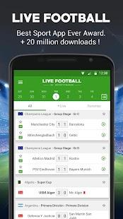 App Live Football APK for Windows Phone