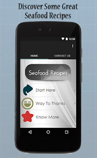 Seafood Recipes Guide - screenshot