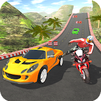 Car vs Bike Racing For PC
