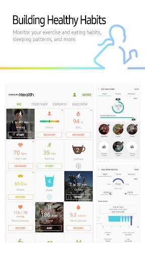 Samsung Health screenshot 2