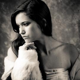 Contemplation by Myra Brizendine Wilson - People Fashion ( model, female, fashion model, female model )
