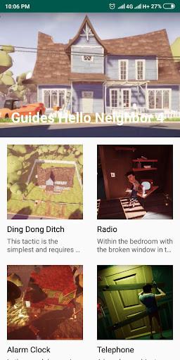 Guides Hello Neighbor 4