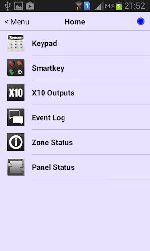 Texecom Engineer App - screenshot