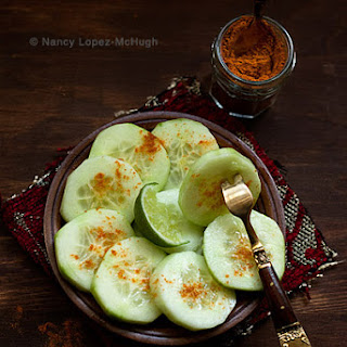 Pepinos Con Chile y Limon Or Cucumbers with Chile and Lime