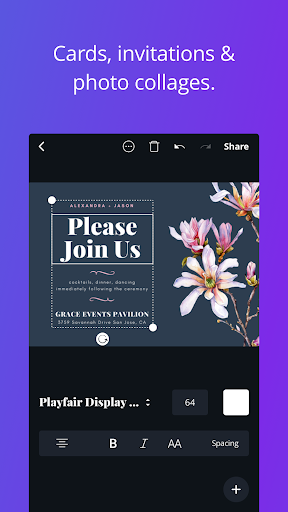 Canva – Create beautiful designs anywhere, faster. screenshot 4