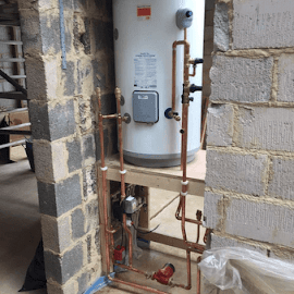 New Megaflo unvented cylinder in Broughton - Oxfordshire