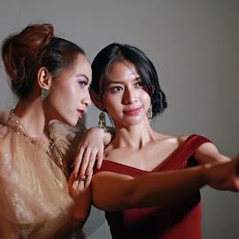 by J W - People Portraits of Women