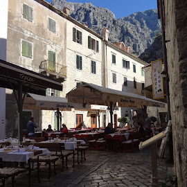 Medieval town of Kotor by Bogdan Kušević - City,  Street & Park  Historic Districts ( montenegro, baroque, trade, kotor, house, unesco, renaissance, romanesque, fortification, cathedral, town, square, bay of kotor, palace, maritime, medieval )